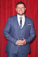 Kai Owen<br /> arrives for the British Soap Awards 2016 at Hackney Empire, London.<br /> <br /> <br /> &copy;Ash Knotek  D3124  28/05/2016