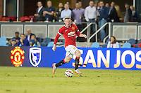 San Jose, California - July 21, 2015: San Jose Earthquakes vs Manchester United during the International Champions Cup at Avaya Stadium. Manchester defeated San Jose 3-1.