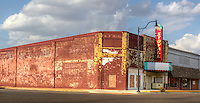 The Stovall Theater on Route tt in Sayer Oklahoma is no longer showing movies.  The theater was opened  in the 1950's by George Stovall.  The theater is now owned by the Sayer Main Street program and is in the process of being restored.