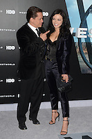 HOLLYWOOD, CA - SEPTEMBER 28: Clifton Collins Jr. and Francesca Eastwood at the premiere of HBO's 'Westworld' at TCL Chinese Theatre on September 28, 2016 in Hollywood, California. Credit: David Edwards/MediaPunch
