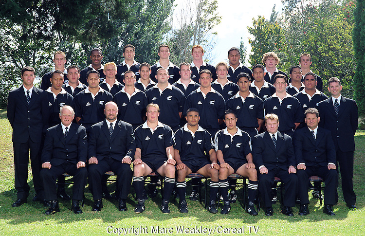 Team photo. Under 19 Portraits, 2000