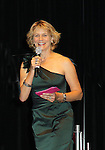 """Guiding Light's """"Annabel Reardon"""" & Santa Barbara Harley Jane Kozak hosts the Mr. Romance Competition at Romantic Times Booklovers Annual Convention 2011 - The Book Industry Event of the Year - April 9, 2011 at the Westin Bonaventure, Los Angeles, California for readers, authors, booksellers, publishers, editors, agents and tomorrow's novelists - the aspiring writers. (Photo by Sue Coflin/Max Photos)"""