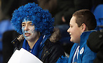 St Johnstone v Hamilton Accies…28.01.17     SPFL    McDiarmid Park<br />Fans Paint it Blue day<br />Picture by Graeme Hart.<br />Copyright Perthshire Picture Agency<br />Tel: 01738 623350  Mobile: 07990 594431