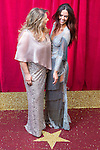 © Licensed to London News Pictures . 16/05/2015 .  The Palace Hotel , Manchester , UK . Nicole Barber-Lane and Jennifer Metcalfe . The red carpet at the 2015 British Soap Awards , The Palace Hotel , Oxford Road , Manchester . Photo credit : Joel Goodman/LNP