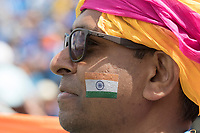 The colours of India were on display everywhere during India vs Australia, ICC World Cup Cricket at The Oval on 9th June 2019