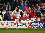 John Brayford of Sheffield Utd gets ahead of Jacob Murphy of Coventry City - English League One - Sheffield Utd vs Coventry City - Bramall Lane Stadium - Sheffield - England - 13th December 2015 - Pic Simon Bellis/Sportimage-