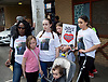 Mark Duggan <br /> march and demonstration / vigil at the Broadwater Estate and outside Tottenham Police Station, Tottenham, London, Great Britain <br /> 4th August 2017 <br /> <br /> on the 6th anniversary after he was killed in 2011. <br /> <br /> <br /> <br /> <br /> Photograph by Elliott Franks <br /> Image licensed to Elliott Franks Photography Services