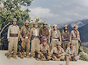 Iraq 1985 <br /> In Bechiley valley, near Amadia, 3 rd right, Najmeddin Yousefi with peshmergas     <br /> Irak 1985 <br /> Dans la valley de Bechil&eacute; pres de Amadia, 3eme a droite, Najmeddin Yousefi avec des peshmergas
