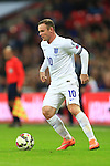 Wayne Rooney of England - England vs. Slovenia - UEFA Euro 2016 Qualifying - Wembley Stadium - London - 15/11/2014 Pic Philip Oldham/Sportimage