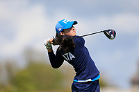Alessia NNobilio (ITA) during the second round of the Irish Womans Open Strokeplay Championship, Co Louth Golf Club, Baltray, Drogheda, Co Louth, Ireland. 12/05/2018.<br /> Picture: Golffile | Fran Caffrey<br /> <br /> <br /> All photo usage must carry mandatory copyright credit (&copy; Golffile | Fran Caffrey)