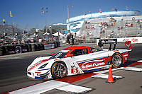 #5 Chevrolet Corvette DP of Joao Barbosa nd Christian Fittipaldi, Long Beach Grand Prix, Long Beach, CA, April 2014.  (Photo by Brian Cleary/ www.bcpix.com )