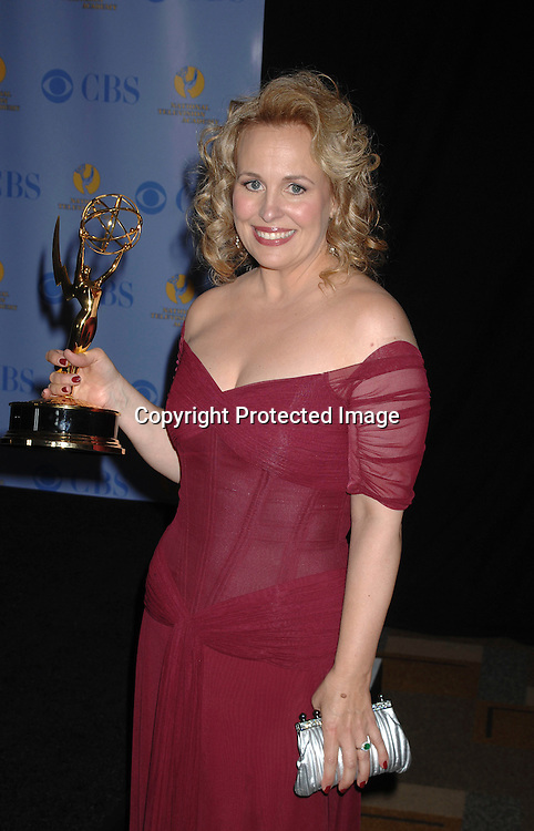 Genie Francis, winner for Best Supporting Actress..posing for photographers in the Press Room at The 34th Annual Daytime Emmy Awards on June 15,2007 at The ..Kodak Theatre in Hollywood, California. ..Robin Platzer, Twin Images......212-935-0770