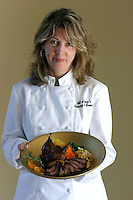 Pam Ahl owns and operates Amy's Manor Inn on the Methow River and is the exclusive wedding and event caterer at Benson Vineyards in Manson, Washington in the Lake Chelan Valley.