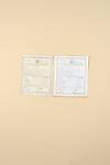 Musarrat Parveen's educational certificates