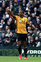 1st March 2020; Tottenham Hotspur Stadium, London, England; English Premier League Football, Tottenham Hotspur versus Wolverhampton Wanderers; Willy Boly of Wolverhampton Wanderers
