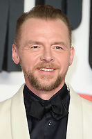"Simon Pegg<br /> arriving for the ""Mission: Impossible Fallout"" premiere at the BFI IMAX South Bank, London<br /> <br /> ©Ash Knotek  D3414  13/07/2018"