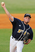 2 April 2008: Florida International's Daniel DeSimone (36) pitches in the third inning of the University of Miami 13-2 victory over FIU at University Park Stadium in Miami, Florida.