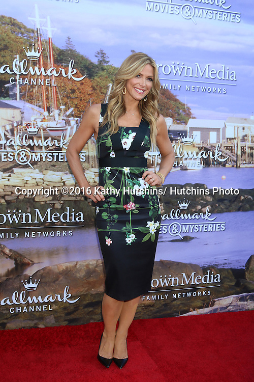 LOS ANGELES - JUL 27:  Debbie Matenopoulos at the Hallmark Summer 2016 TCA Press Tour Event at the Private Estate on July 27, 2016 in Beverly Hills, CA