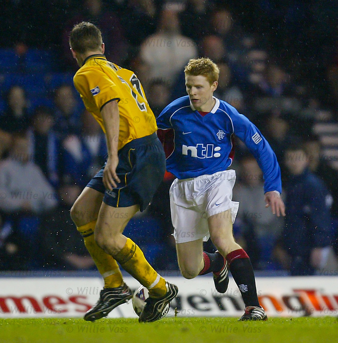 Chris Burke, Rangers