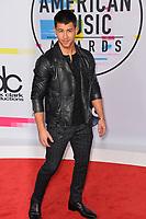 Nick Jonas at the 2017 American Music Awards at the Microsoft Theatre LA Live, Los Angeles, USA 19 Nov. 2017<br /> Picture: Paul Smith/Featureflash/SilverHub 0208 004 5359 sales@silverhubmedia.com