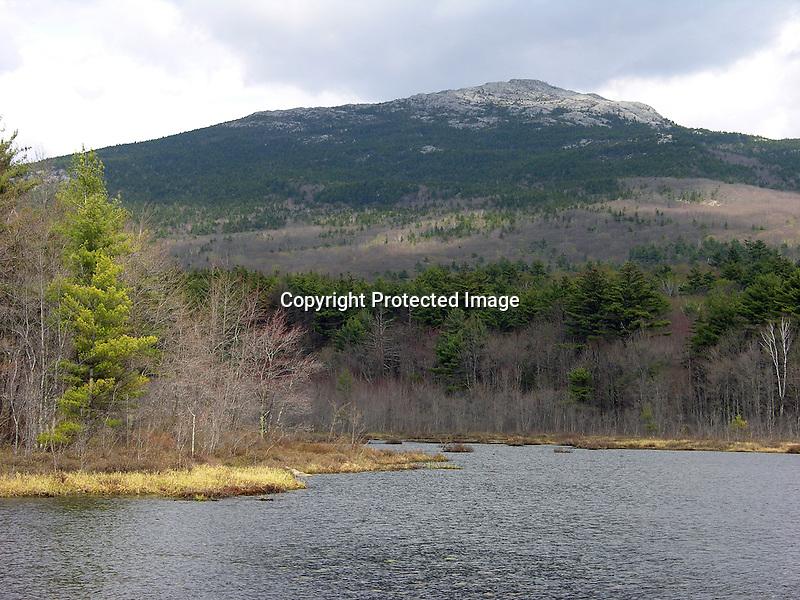 Mt. Monadnock in New Hampshire, USA