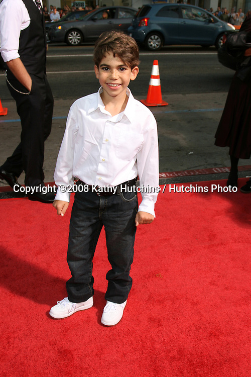 "Cameron Boyce arriving at the premiere of ""Eagle Eye"" at Mann's Chinese Theater in Los Angeles ,CA on.September 16, 2008.©2008 Kathy Hutchins / Hutchins Photo...."
