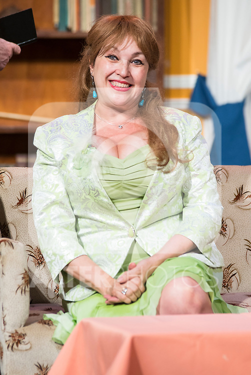 Estrella Blanco at &quot;Usted puede ser un asesino&quot; Theater play in Mu&ntilde;oz Seca Theater, Madrid, Spain, September 07, 2015. <br /> (ALTERPHOTOS/BorjaB.Hojas)