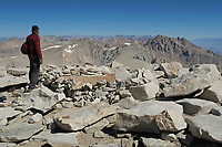 Courtesy photo/JIM WARNOCK<br /> Bob Cable of Fayetteville at the summit of Mount Whitney.