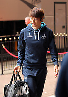 Ki Sung-Yueng of Swansea City arrives prior to the Premier League match between Sunderland and Swansea City at the Stadium of Light, Sunderland, England, UK. Saturday 13 May 2017