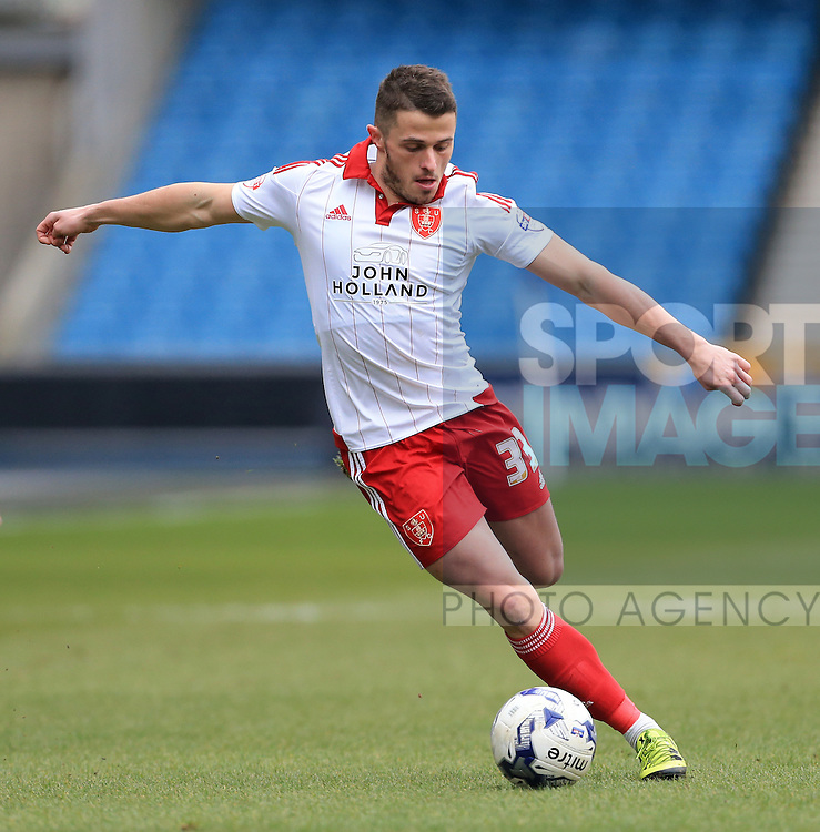 Sheffield United's Florent Cuvelier in action during the League One match at The Den.  Photo credit should read: David Klein/Sportimage