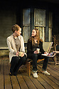 London, UK. 19.03.2013. PROOF, by David Auburn and directed by Polly Findlay, opens at the Menier Chocolate Factory. Picture shows: Emma Cuniffe (Claire) and Mariah Gale (Catherine). Photo credit: Jane Hobson.
