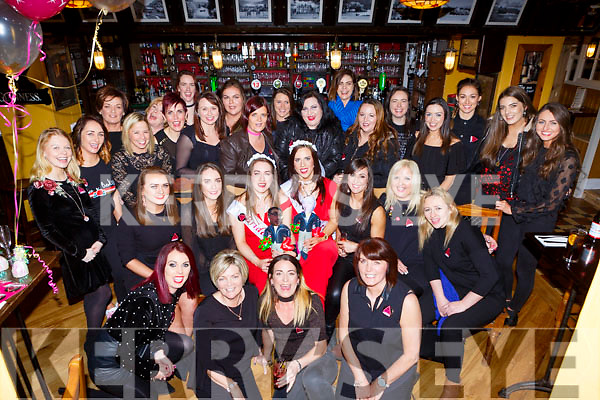 Kerrie Beckett Killarney and Aileen Reen Rathmore who celebrated their hen party in the Porterhouse Killarney on Saturday