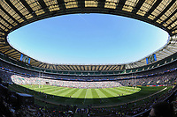 A general view of Twickenham Stadium prior to the match. The Clash, Aviva Premiership match, between Bath Rugby and Leicester Tigers on April 8, 2017 at Twickenham Stadium in London, England. Photo by: Rob Munro / Onside Images