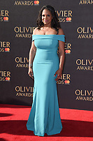 Audra McDonald at The Olivier Awards 2017 at the Royal Albert Hall, London, UK. <br /> 09 April  2017<br /> Picture: Steve Vas/Featureflash/SilverHub 0208 004 5359 sales@silverhubmedia.com