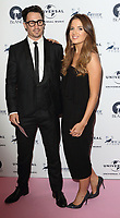 Josh Patterson and Binky Felstead  at the Amy Winehouse Foundation Gala held at the Dorchester Hotel, Park Lane, London on October 5th 2017<br /> CAP/ROS<br /> &copy;ROS/Capital Pictures