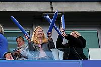 Chelsea fans during Chelsea Women vs Tottenham Hotspur Women, Barclays FA Women's Super League Football at Stamford Bridge on 8th September 2019