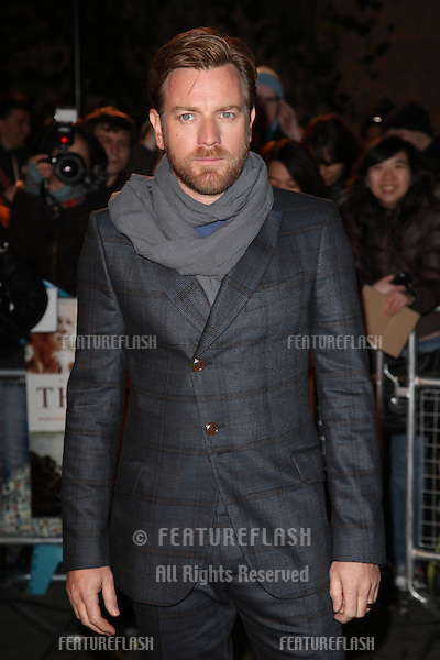 Ewan McGregor arriving for the 'The Impossible' Premiere at the IMAX, Waterloo, London. 19/11/2012 Picture by: Alexandra Glen / Featureflash