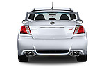 Straight rear view of a 2013 Subaru WRX STI Sedan2013 Subaru WRX STI Sedan