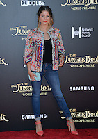 LOS ANGELES, CA. April 4, 2016. Singer Sofia Reyes at the world premiere of &quot;The Jungle Book&quot; at the El Capitan Theatre, Hollywood.<br /> Picture: Paul Smith / Featureflash