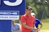 Marcel Siem (GER) tees off the 15th tee during Saturday's Round 3 of the Porsche European Open 2018 held at Green Eagle Golf Courses, Hamburg Germany. 28th July 2018.<br /> Picture: Eoin Clarke | Golffile<br /> <br /> <br /> All photos usage must carry mandatory copyright credit (&copy; Golffile | Eoin Clarke)