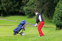 John Hickey (Cork) on the 2nd during round 1 of The Mullingar Scratch Cup in Mullingar Golf Club on Sunday 3rd August 2014.<br /> Picture:  Thos Caffrey / www.golffile.ie