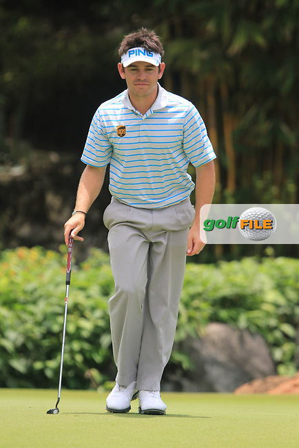 Louis Oosthuizen on the 17th during the Pro-Am of the Maybank Malaysian Open 2012 at Kuala Lumpur Golf and Country Club, Kuala Lumpur, Malaysia...(Photo Jenny Matthews/www.golffile.ie)