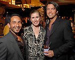 Oscar Guevara, Kelly Middlebrooks and Gregory Kohler at the Fall Fashion show at the Galleria Thursday  Oct. 16,2008. (Dave Rossman/For the Chronicle)