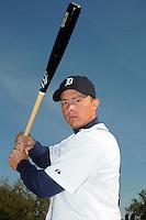 Feb 21, 2009; Lakeland, FL, USA; The Detroit Tigers infielder Brandon Inge (15) during photoday at Tigertown. Mandatory Credit: Tomasso De Rosa/ Four Seam Images