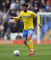 Leeds United's Tyler Roberts<br /> <br /> Photographer Mick Walker/CameraSport<br /> <br /> The EFL Sky Bet Championship - Birmingham City v Leeds United - Saturday 6th April 2019 - St Andrew's - Birmingham<br /> <br /> World Copyright © 2019 CameraSport. All rights reserved. 43 Linden Ave. Countesthorpe. Leicester. England. LE8 5PG - Tel: +44 (0) 116 277 4147 - admin@camerasport.com - www.camerasport.com