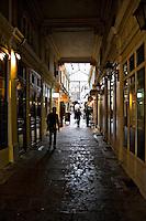 Covered shopping arcade Paris ..©shoutpictures.com.john@shoutpictures.com