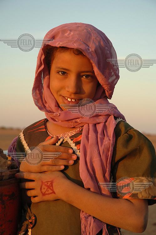 Ten-year-old Fatmah.