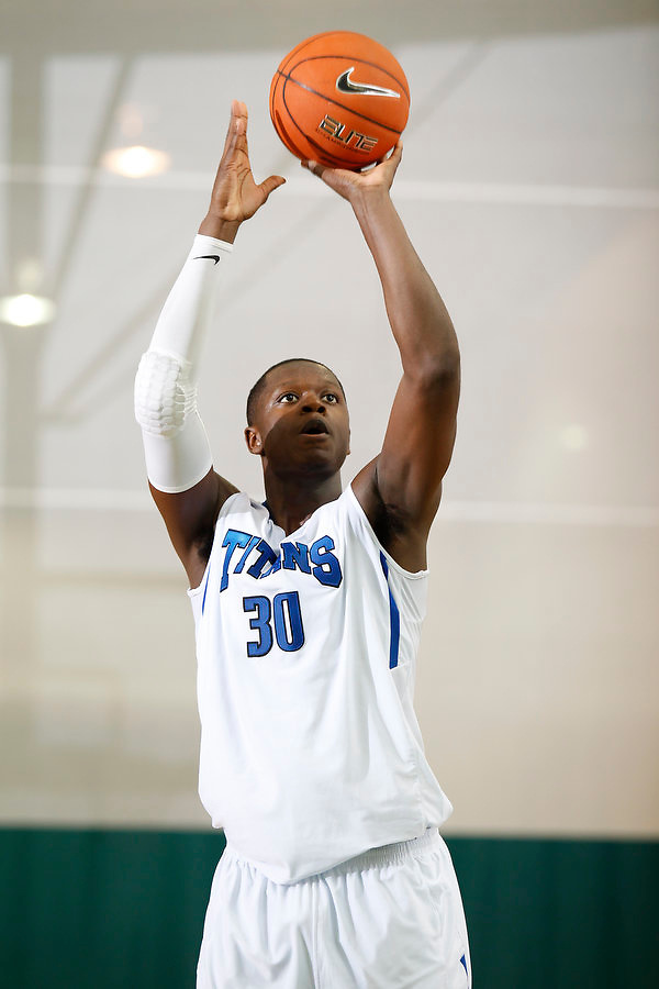 April 8, 2011 - Hampton, VA. USA; Julius Randle participates in the 2011 Elite Youth Basketball League at the Boo Williams Sports Complex. Photo/Andrew Shurtleff