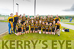 The Abbeydorney U13 team taking part in the Sandra Keane memorial Tournament in the John Mitchels Complex on Saturday