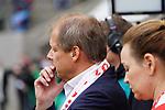 09.03.2019, RheinEnergieStadion, Koeln, GER, 2. FBL, 1.FC Koeln vs. Arminia Bielefeld,<br />  <br /> DFL regulations prohibit any use of photographs as image sequences and/or quasi-video<br /> <br /> im Bild / picture shows: <br /> Markus Ritterbach Pr&auml;sident / Praesident (1.FC Koeln), nachdenklich <br /> <br /> Foto &copy; nordphoto / Meuter